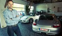Porsche Cayman S, Porsche Boxster S, Austellungsraum