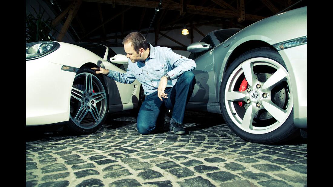 Porsche Cayman S, Porsche Boxster S, Radkästen