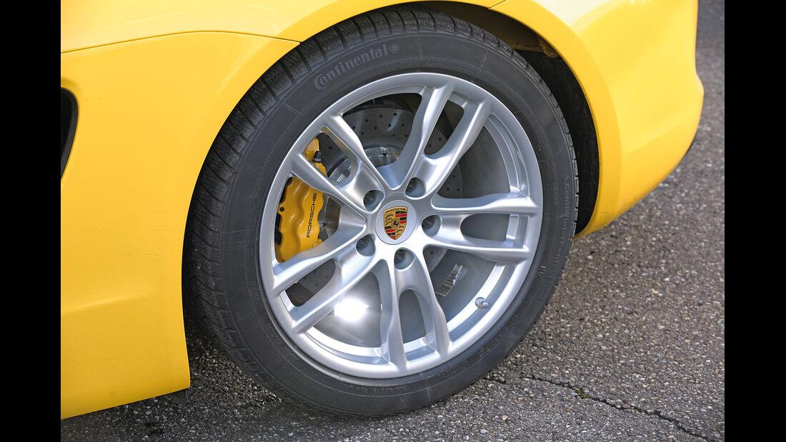 Porsche Cayman S, Rad, Felge, Bremse