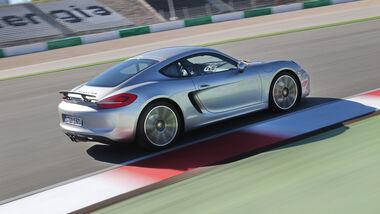 Porsche Cayman S, Seitenansicht
