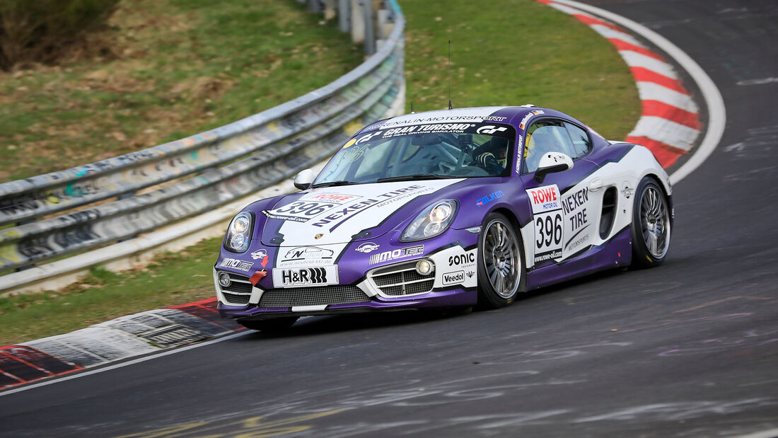 Porsche Cayman S - Startnummer #396 - Adrenalin Motorsport Team Alzner Automotive - V6 - NLS 2021 - Langstreckenmeisterschaft - Nürburgring - Nordschleife