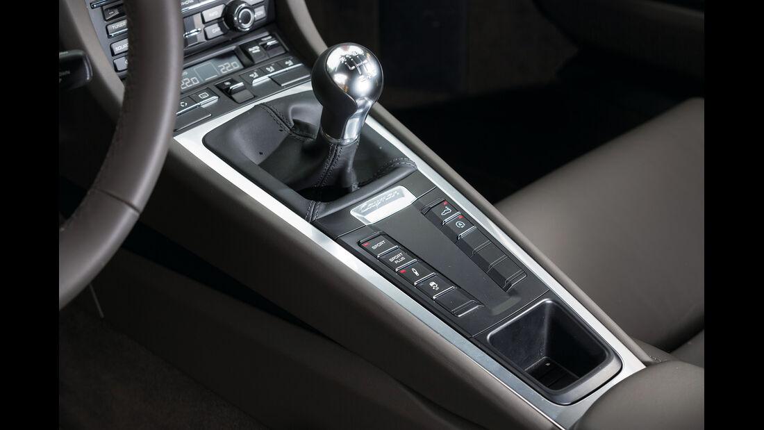Porsche Cayman, Sechsganggetriebe