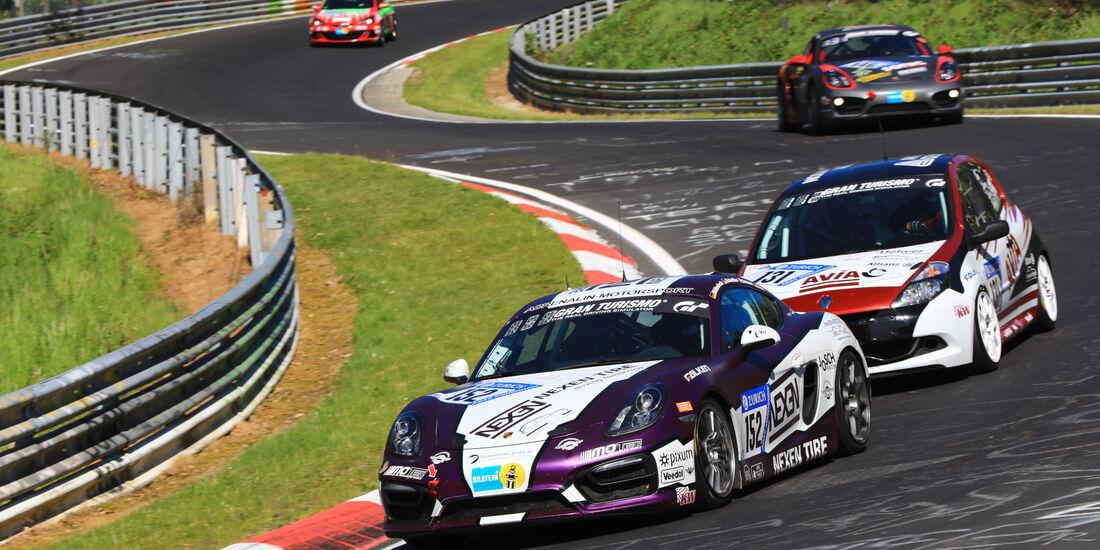 Porsche Cayman - Startnummer #152 - 2. Qualifying - 24h-Rennen Nürburgring 2017 - Nordschleife