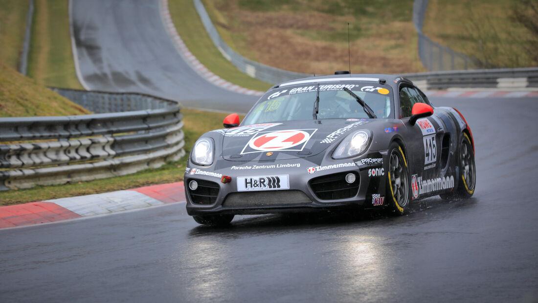 Porsche Cayman - Startnummer #415 - PROsport-Racing GmbH - V6 - NLS 2021 - Langstreckenmeisterschaft - Nürburgring - Nordschleife