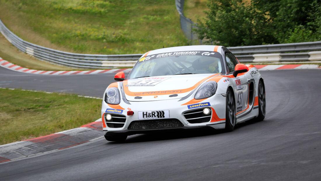 Porsche Cayman - Startnummer #437 - PROsport-Racing GmbH - V5 - NLS 2020 - Langstreckenmeisterschaft - Nürburgring - Nordschleife