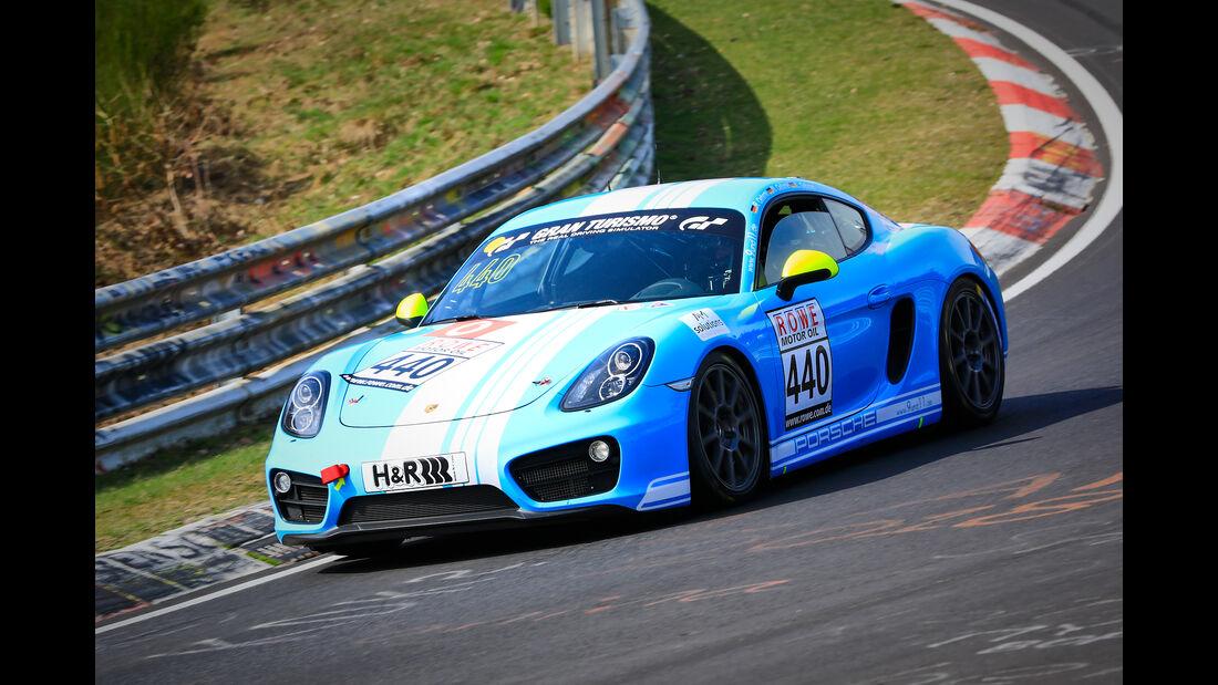 Porsche Cayman - Startnummer #440 - Team 9 und 11 Racing - V5 - VLN 2019 - Langstreckenmeisterschaft - Nürburgring - Nordschleife
