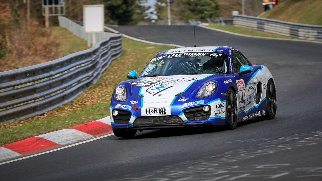 Porsche Cayman - Startnummer #444 - Adrenalin Motorsport Team Alzner Automotive - V5 - NLS 2021 - Langstreckenmeisterschaft - Nürburgring - Nordschleife
