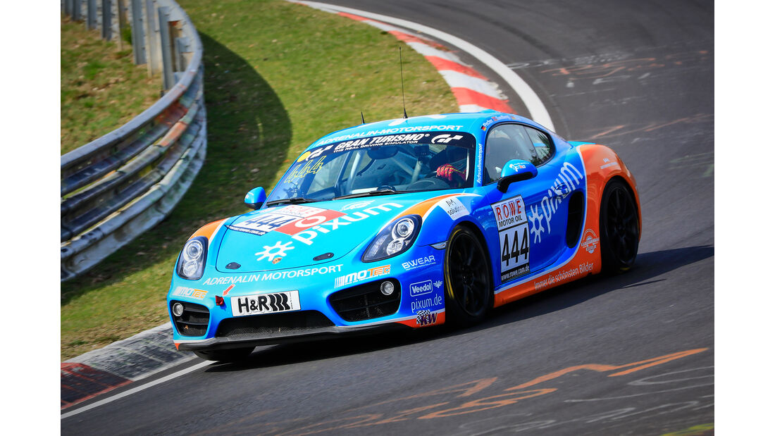 Porsche Cayman - Startnummer #444 - Pixum Team Adrenalin Motorsport - V5 - VLN 2019 - Langstreckenmeisterschaft - Nürburgring - Nordschleife