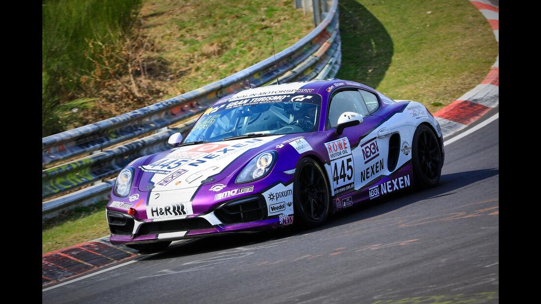 Porsche Cayman - Startnummer #445 - Pixum Team Adrenalin Motorsport - V5 - VLN 2019 - Langstreckenmeisterschaft - Nürburgring - Nordschleife