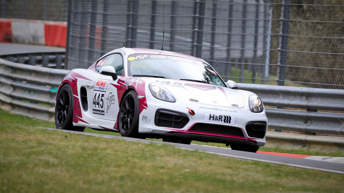 Porsche Cayman - Startnummer #445 - rent2drive-FAMILIA-racing - V5 - NLS 2021 - Langstreckenmeisterschaft - Nürburgring - Nordschleife