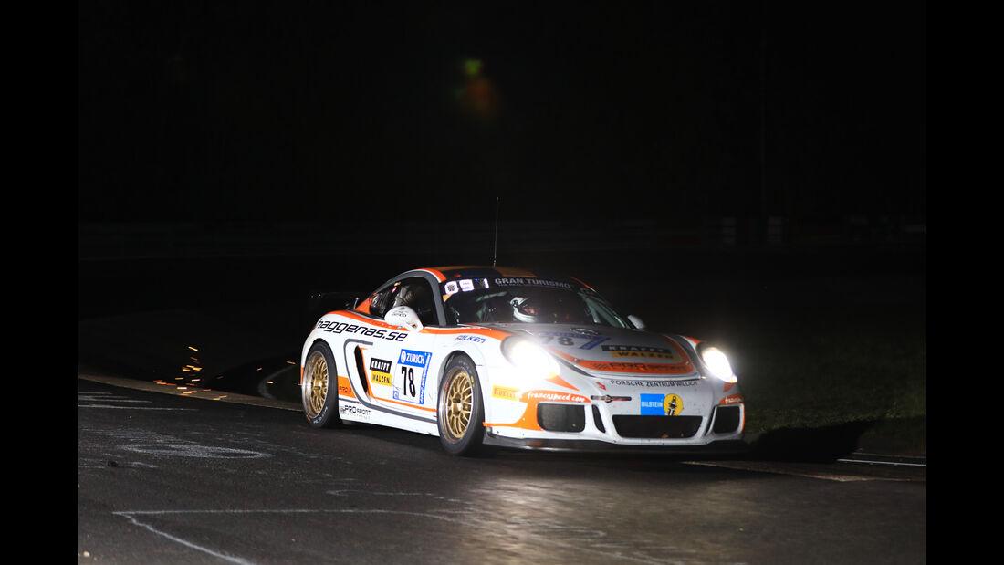 Porsche Cayman - Startnummer #78 - 24h-Rennen Nürburgring 2017 - Nordschleife