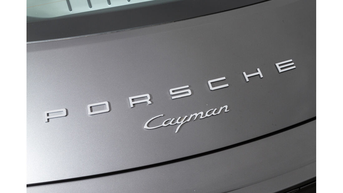 Porsche Cayman, Typenbezeichnung
