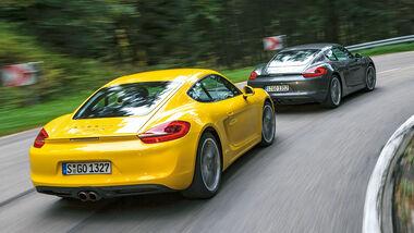 Porsche Cayman, Varianten, Heckansicht
