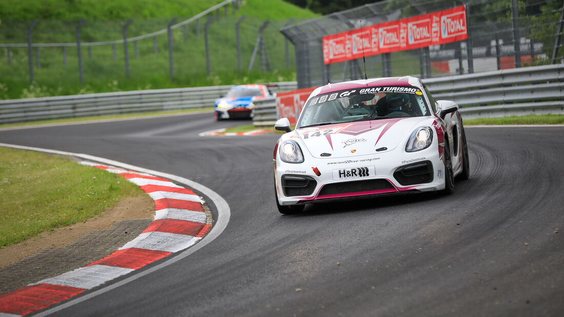 Porsche Cayman - rent2Drive-FAMILIA-racing - Startnummer #142 - Klasse: V 5 - 24h-Rennen - Nürburgring - Nordschleife - 03. - 06. Juni 2021
