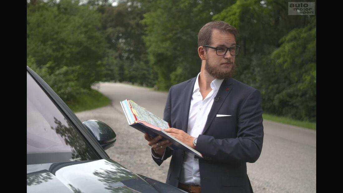 Porsche Connectivity Special Navigation POI Sonderziel