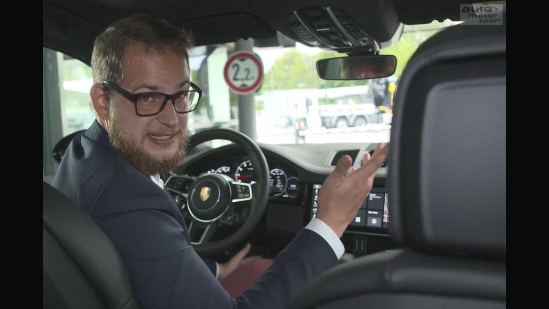 Porsche Connectivity Special Smarthome News Wetter