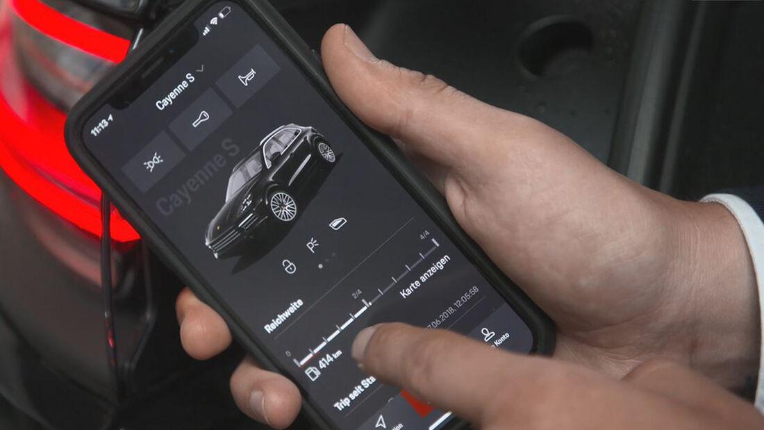 Porsche Connectivity Special Smartphone App Connect