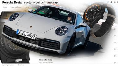 Porsche Design Chronograph Uhr Konfigurator