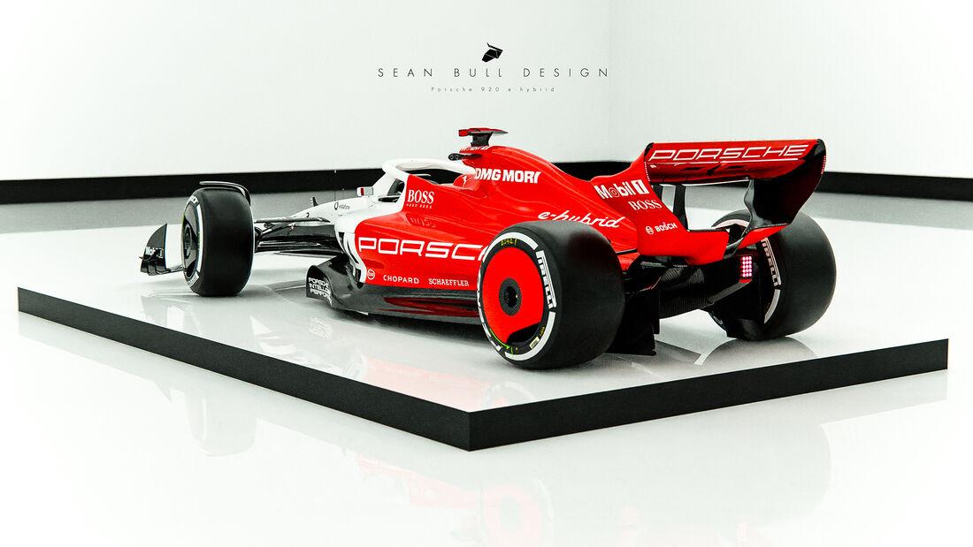 Porsche Design-Concept - F1 2022 - Sean Bull Design