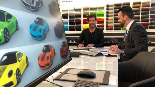 Porsche Direct Printing Marc Webber Fingerabdruck