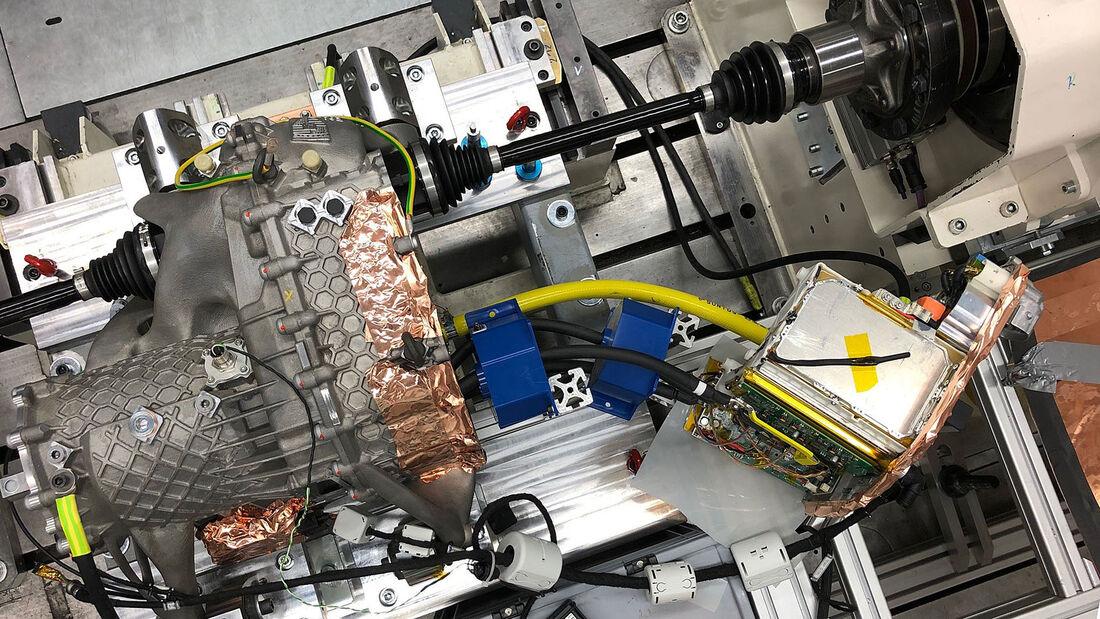 Porsche  E-Antrieb-Gehäuse 3D-Drucktechnik