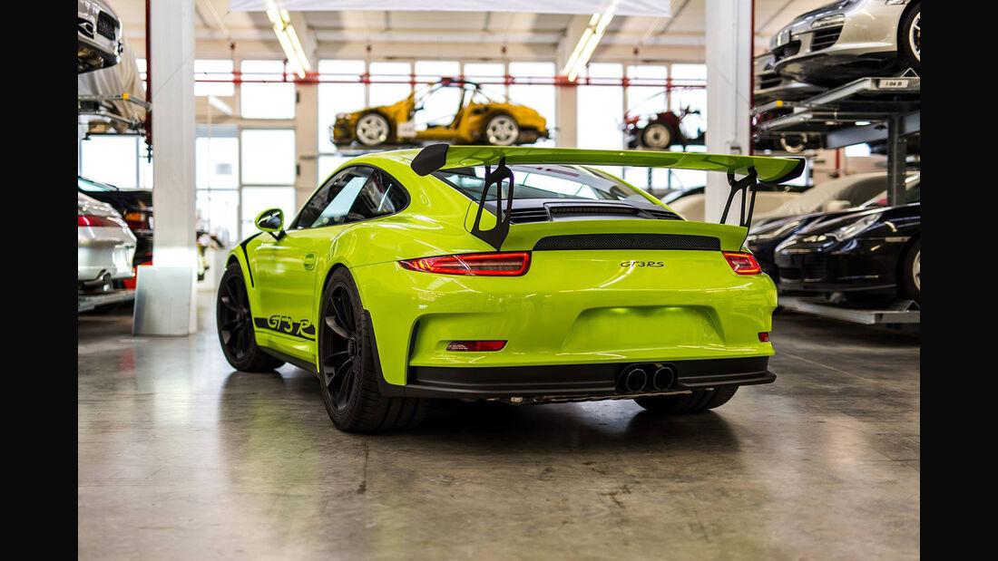 Porsche Exclusive 911 GT3 RS, Individual, Birkengrün