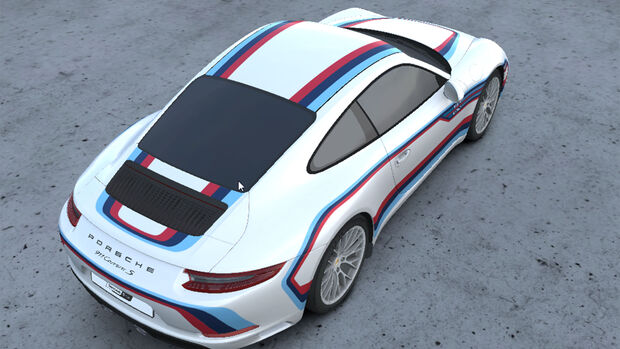 Porsche Folierung Second Skin