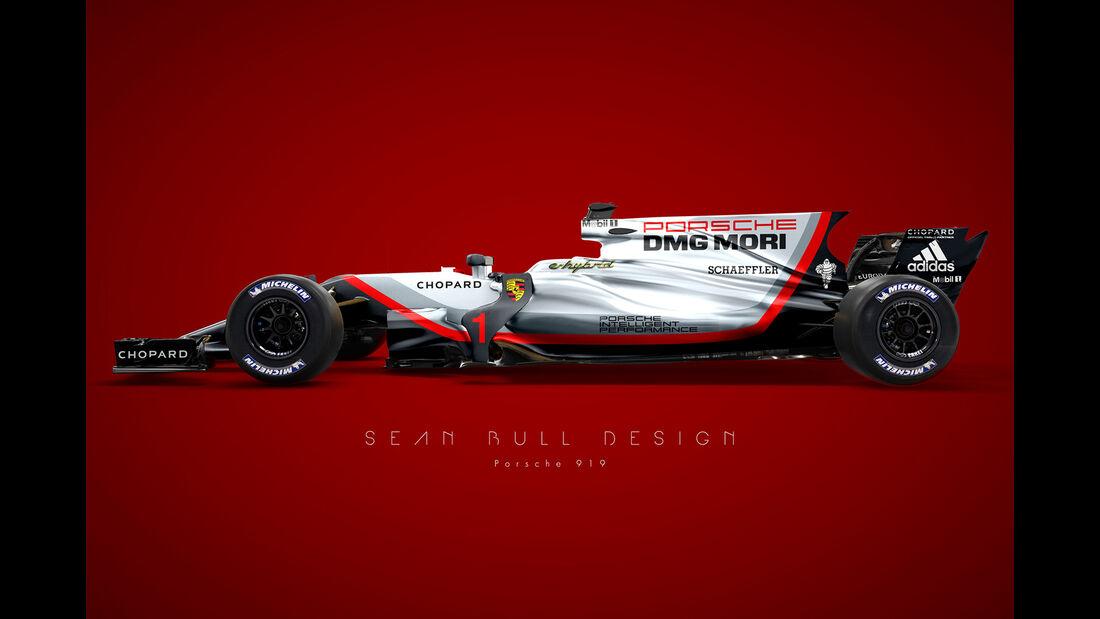 Porsche - Formel 1 Concept - Sean Bull