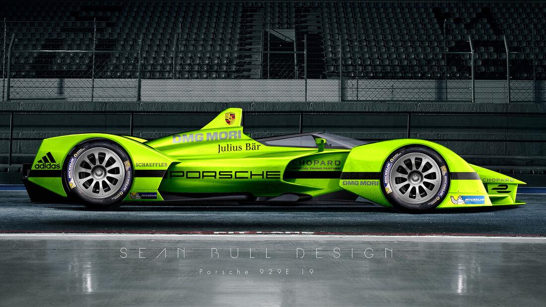 Porsche - Formel E - Concept - Sean Bull