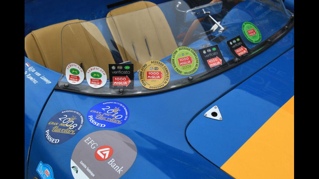 Porsche, Frontscheibe, Detail