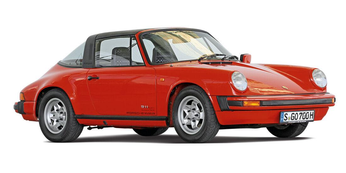 Porsche G-Modell,  Seitenansicht