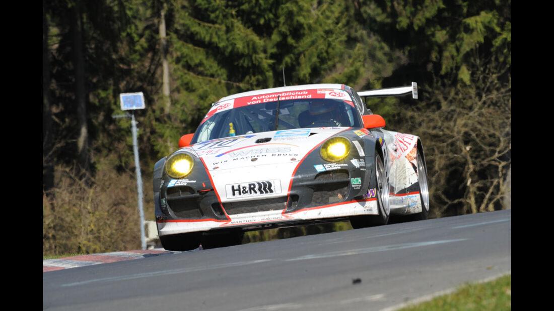 Porsche GT 3 schwarz weiß