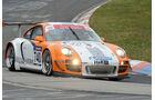 Porsche GT Hybrid weiß orange