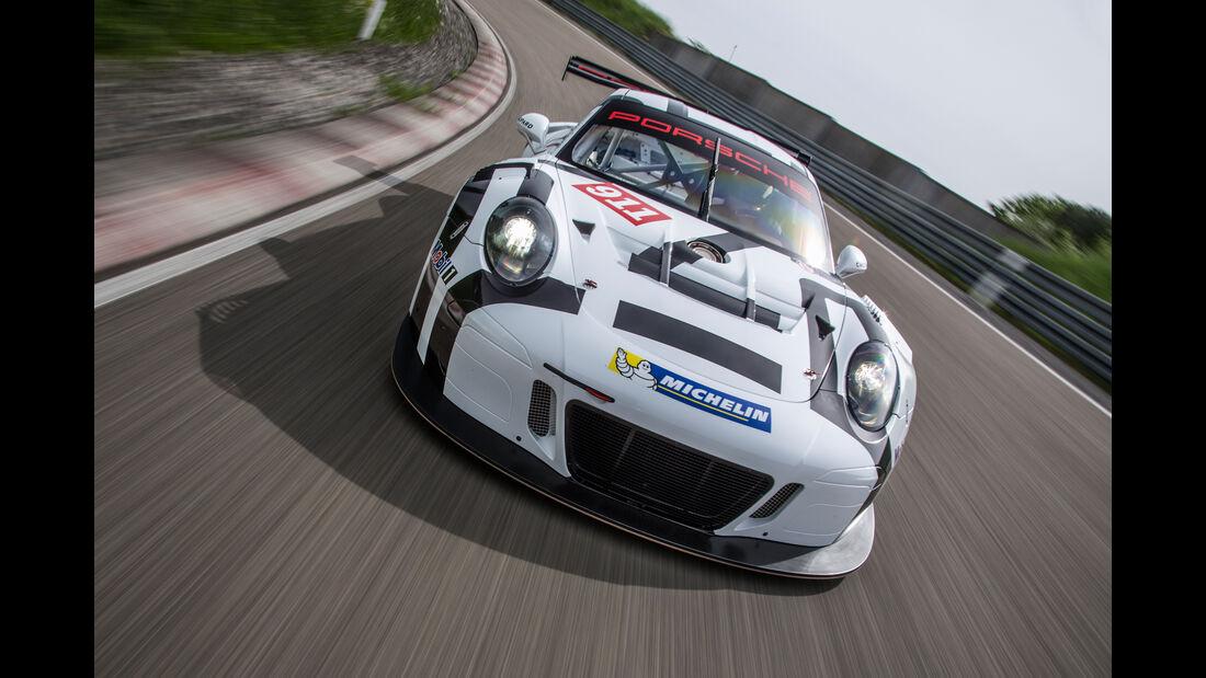 Porsche GT3 R Rennstrecke Front
