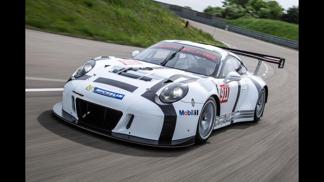 Porsche GT3 R Rennstrecke Totale