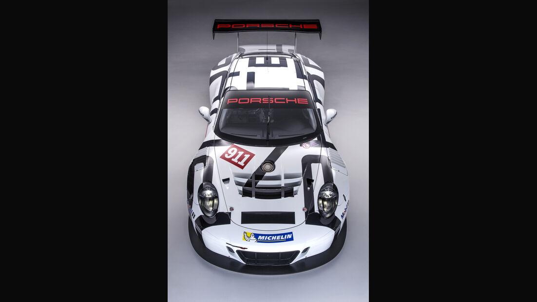 Porsche GT3 R Studio Vogelperspektive