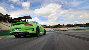 Porsche GT3 RS, Exterieur