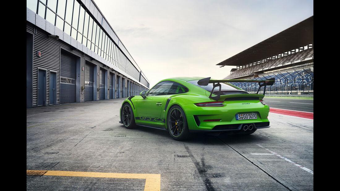 Porsche GT3 RS Mitfahrt Röhrl Finnland Schnee 2018 SPERRFRIST 21.02.2018 / 00.01 Uhr