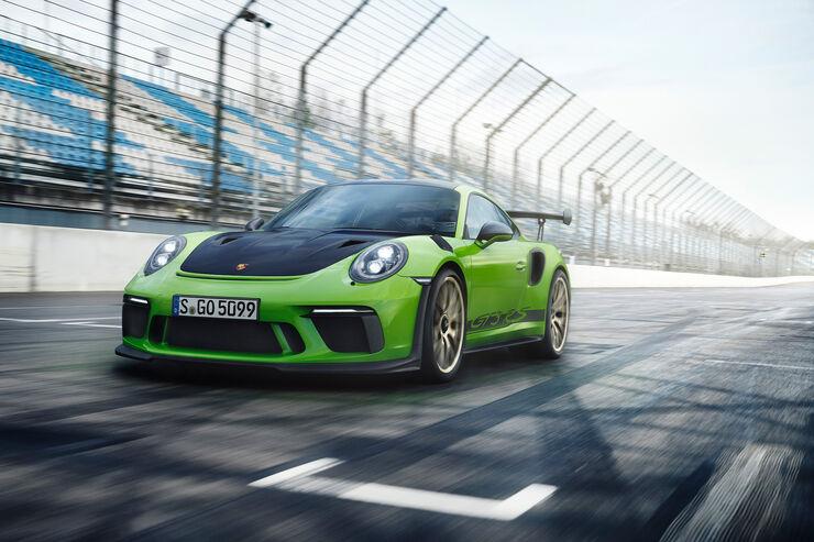 Porsche 911 Gt3 Rs 2018 Auto Motor Und Sport
