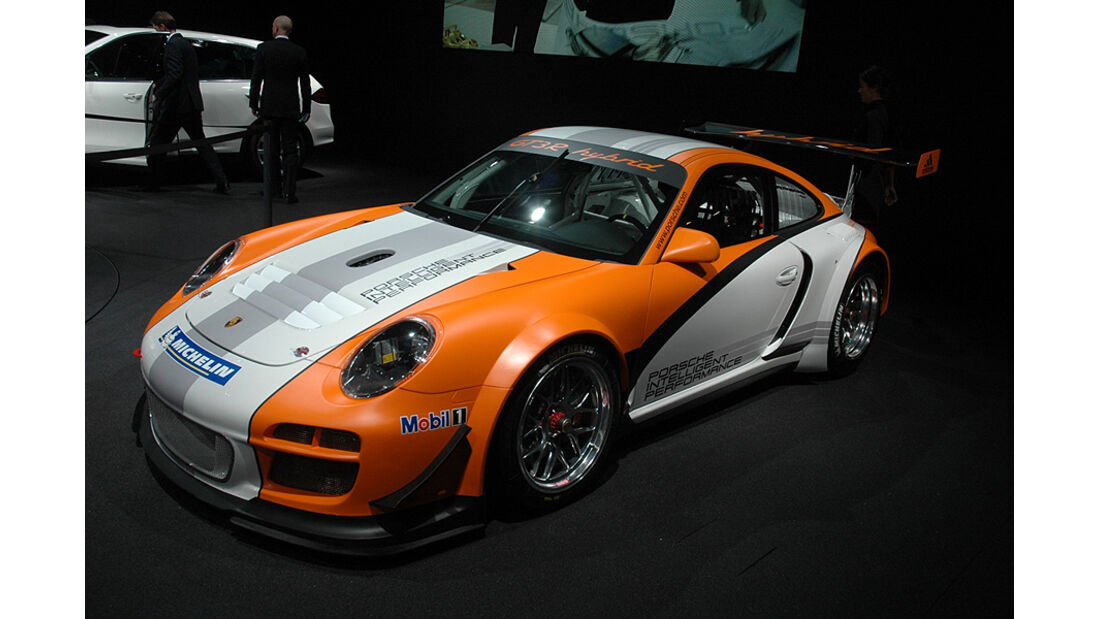Porsche GT3R Hybrid, Genf2010