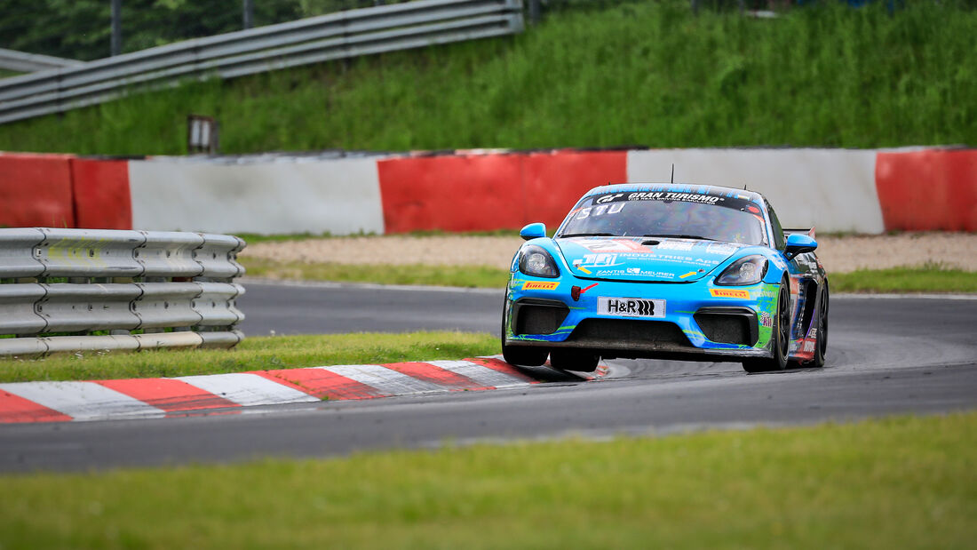 Porsche GT4 Cayman CS - Allied-Racing - Startnummer #78 - Klasse: SP 10 (SRO-GT4) - 24h-Rennen - Nürburgring - Nordschleife - 03. - 06. Juni 2021