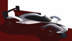 Porsche - LMDh - Rennwagen - Motorsport