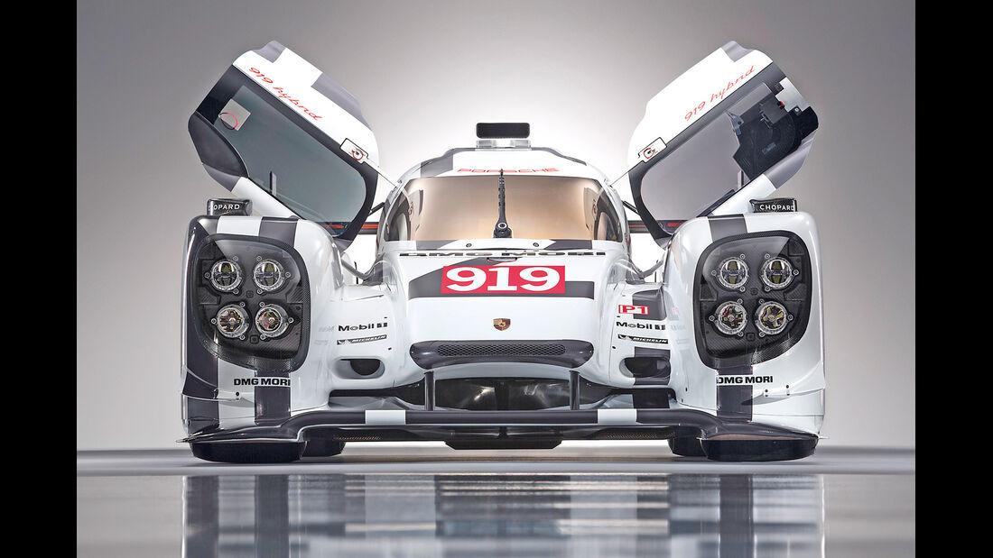 Porsche LMP1, Rennwagen, 919 Hybrid