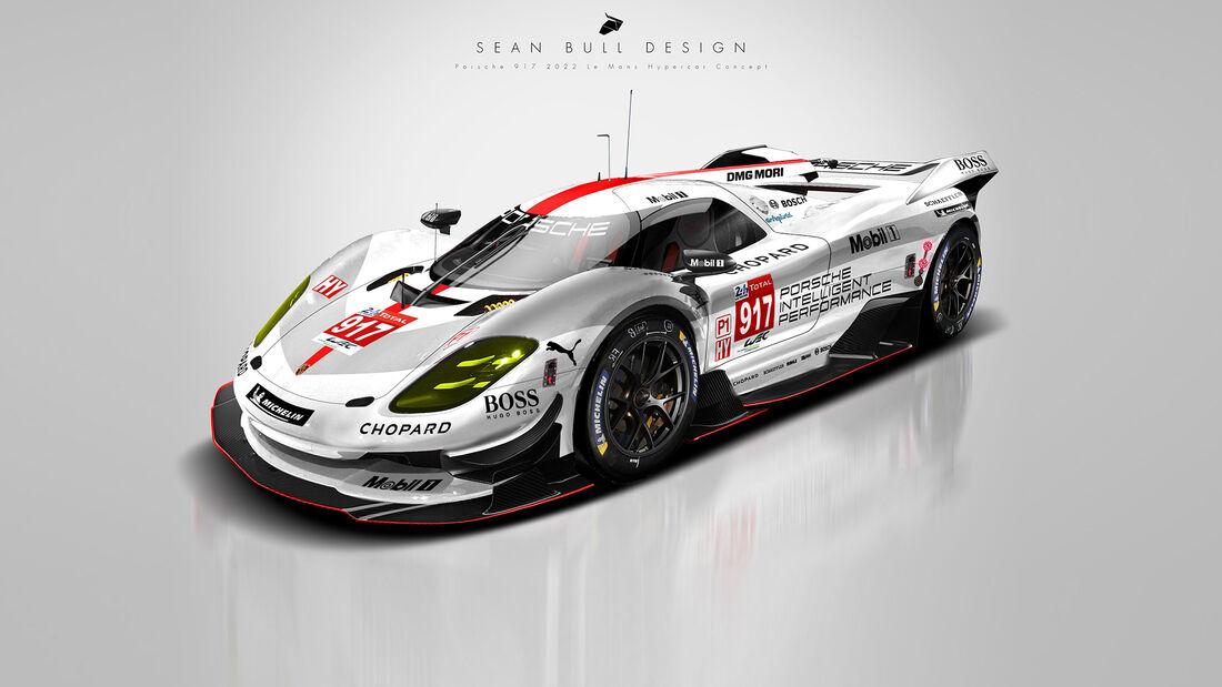 Porsche Le Mans Hypercar Concept - Sean Bull Design