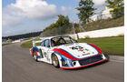 Porsche Le Mans-Siegerautos auf dem Hockenheimring