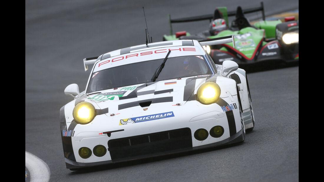 Porsche - Le Mans-Vortest 2015