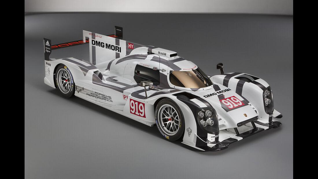 Porsche LeMans, Sonderausstellung, 919 Hybrid mock-up