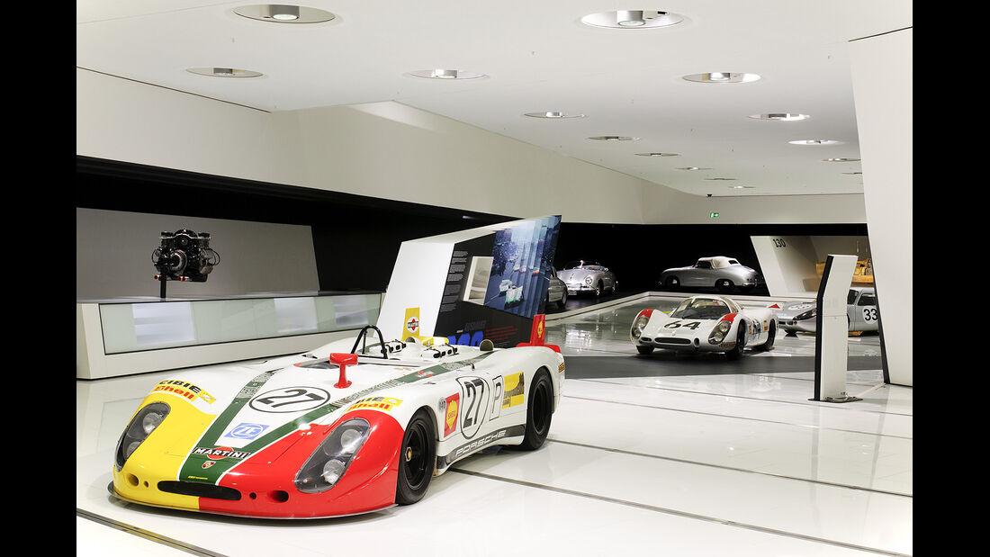 Porsche LeMans, Sonderausstellung, Porsche 908/02 Spyder LH