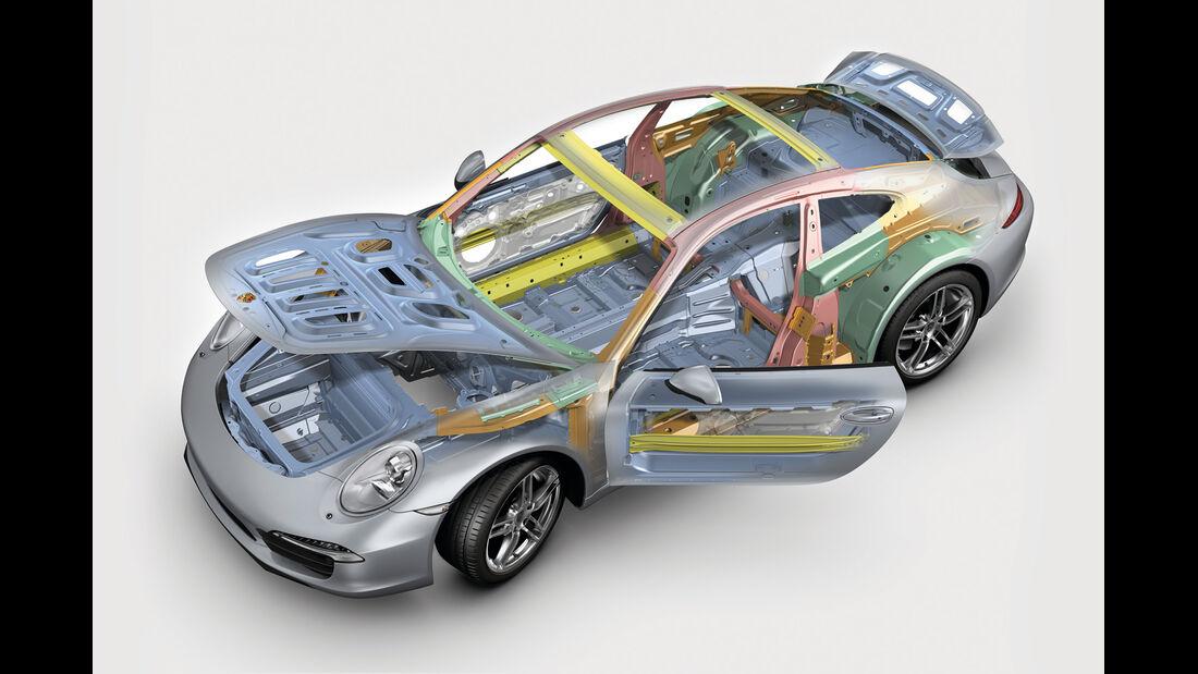 Porsche, Leichtbau