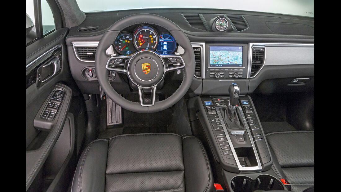 Porsche Macan, Cockpit, Lenkrad